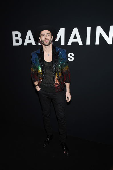 Monogram「Balmain Homme : Front Row - Paris Fashion Week - Menswear F/W 2019-2020」:写真・画像(13)[壁紙.com]