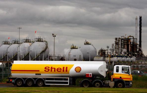 Brand Name「Shell Tanker Drivers Return To Work Following Strike」:写真・画像(8)[壁紙.com]