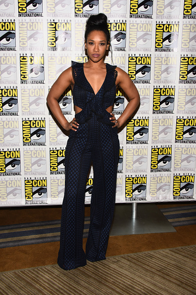 "Black Jumpsuit「Comic-Con International 2018 - ""The Flash"" Press Line」:写真・画像(0)[壁紙.com]"