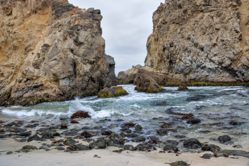 Pfeiffer Beach「Big Sur, California, USA」:スマホ壁紙(14)