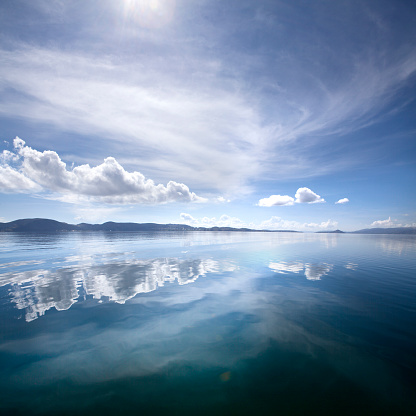 Water Surface「Lake Titicaca」:スマホ壁紙(10)