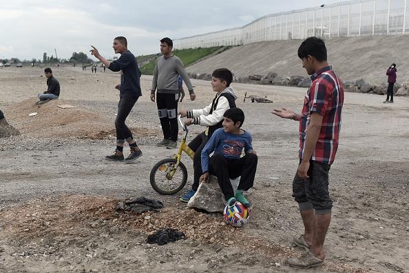 Calais「Life Amongst The Rubble Of The Calais Jungle」:写真・画像(15)[壁紙.com]