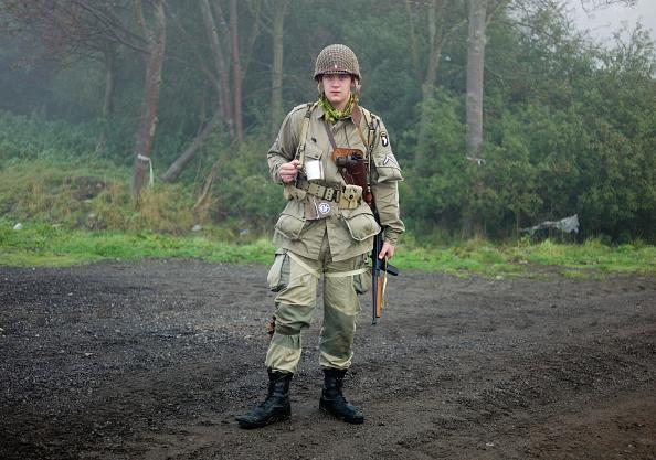 Military Uniform「World War II Reenacted In Yorkshire Villages」:写真・画像(13)[壁紙.com]
