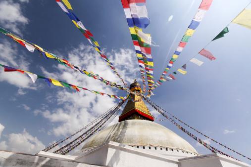 Chan Buddhism「Bodnath Stupa in Kathmandu, Nepal」:スマホ壁紙(14)