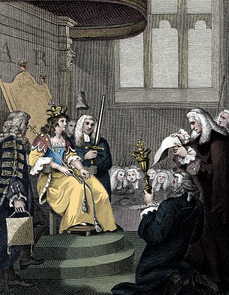 Stuart - Florida「The Act Of Union Between England And Scotland Being Read Before Queen Anne 1826」:写真・画像(12)[壁紙.com]