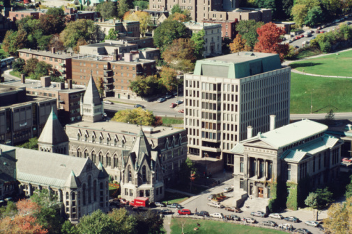 1990-1999「Campus of McGill College in Montreal, Canada」:スマホ壁紙(12)