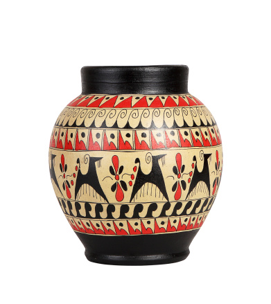 Cartoon「Antique Vase+Clipping Path (Click for more)」:スマホ壁紙(5)