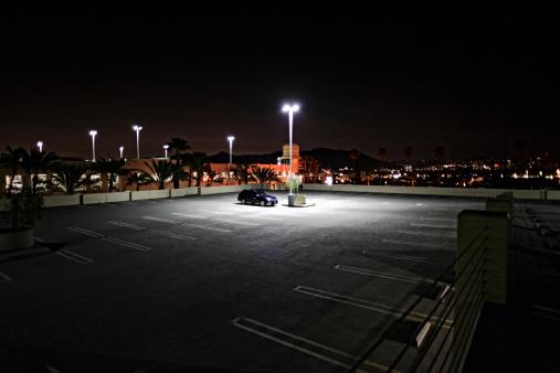 Parking Lot「Working Late」:スマホ壁紙(0)