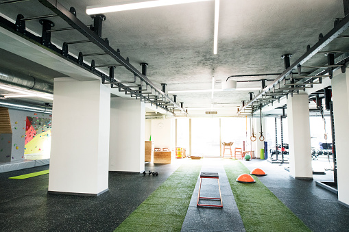 Bicep「View on modern gym gym.」:スマホ壁紙(9)