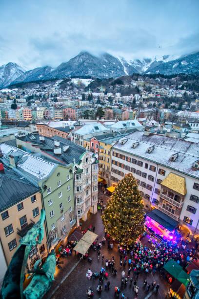 Innsbruck - Winter Landscape:スマホ壁紙(壁紙.com)