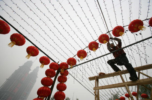 Chinese Lantern「China Prepares For Chinese New Year」:写真・画像(7)[壁紙.com]