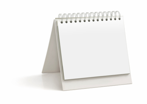 Calendar「Blank Desktop Calendar」:スマホ壁紙(1)