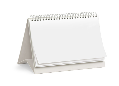カレンダー「空白のデスクトップカレンダー」:スマホ壁紙(1)