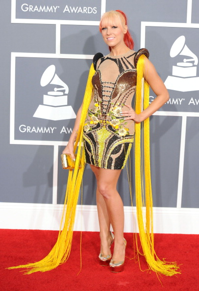 Two-Toned Hair「The 54th Annual GRAMMY Awards - Arrivals」:写真・画像(3)[壁紙.com]