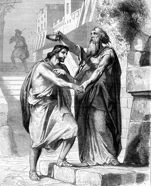 式典「Samuel anointing Saul」:写真・画像(15)[壁紙.com]
