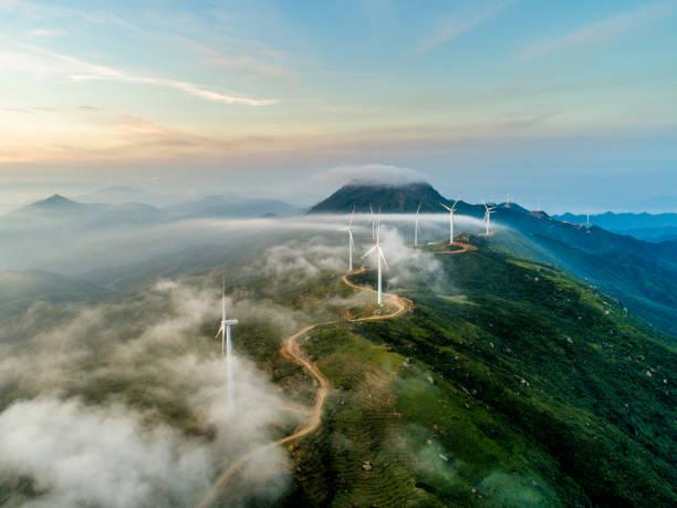 Wind power generation:スマホ壁紙(壁紙.com)