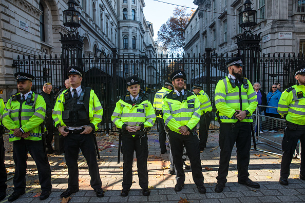 City Of Westminster - London「Climate Activists Arrested In Westminster」:写真・画像(6)[壁紙.com]