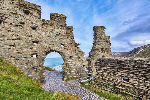 Mythology「Tintagel Castle Ruins, Cornwall, UK」:スマホ壁紙(16)