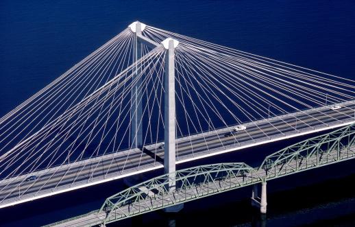 Columbia River「Tri-City Bridge over the Columbia River, Washington」:スマホ壁紙(16)