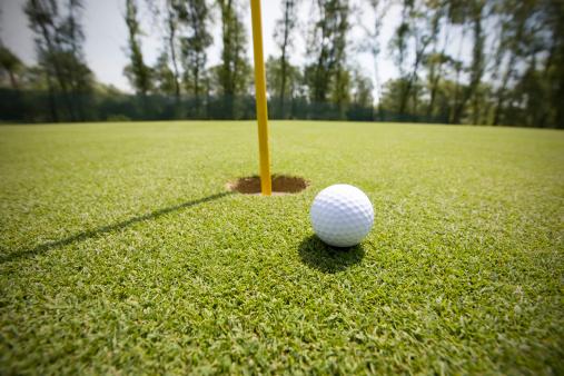 PGA Event「Golf court with ball」:スマホ壁紙(3)