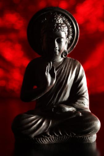 Buddha statue「レッドの大仏」:スマホ壁紙(19)