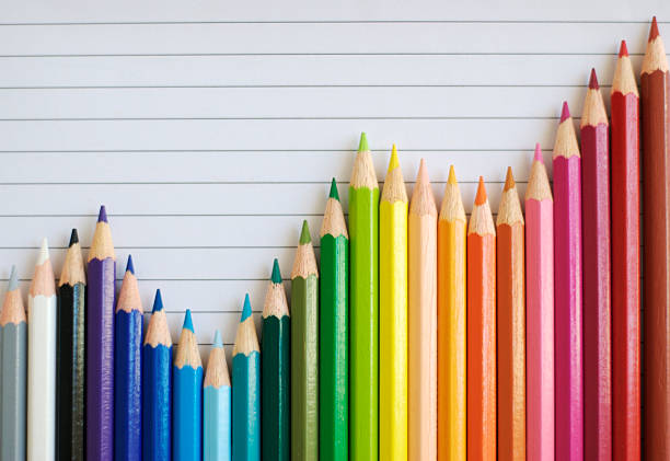 色鉛筆バーグラフ用紙が成功した裏張り:スマホ壁紙(壁紙.com)
