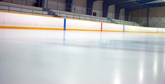 Ice Hockey Rink「Hockey Arena at Ice Level」:スマホ壁紙(7)