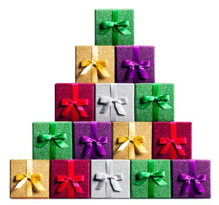 プレゼント「Wrapped gifts stacked」:スマホ壁紙(11)