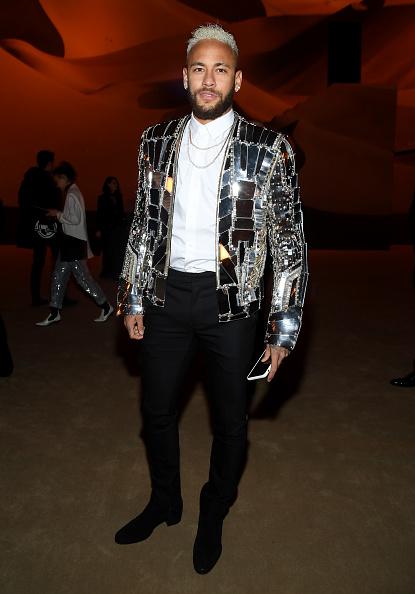 Neymar da Silva「Balmain : Front Row - Paris Fashion Week - Menswear F/W 2020-2021」:写真・画像(3)[壁紙.com]