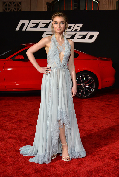 """Halter Top「Premiere Of DreamWorks Pictures' """"Need For Speed"""" - Arrivals」:写真・画像(2)[壁紙.com]"""