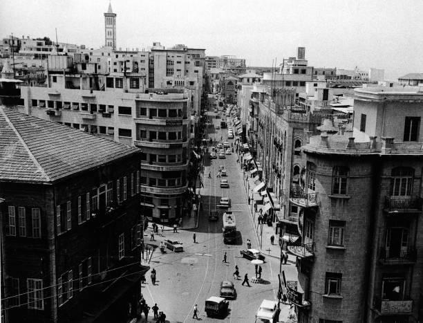Beirut Street Seen From Above:ニュース(壁紙.com)