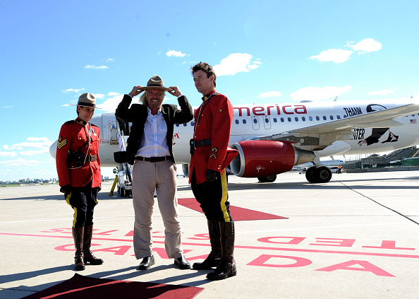 Virgin America「Launch Of Virgin America's 1st International Destination To Toronto」:写真・画像(1)[壁紙.com]