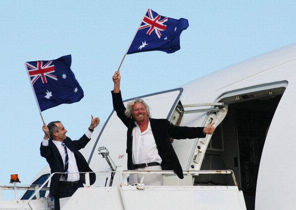 Rebranding「Virgin Blue Group Launches New Aircraft In Sydney」:写真・画像(17)[壁紙.com]