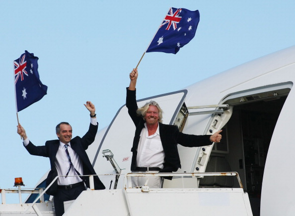 Rebranding「Virgin Blue Group Launches New Aircraft In Sydney」:写真・画像(16)[壁紙.com]