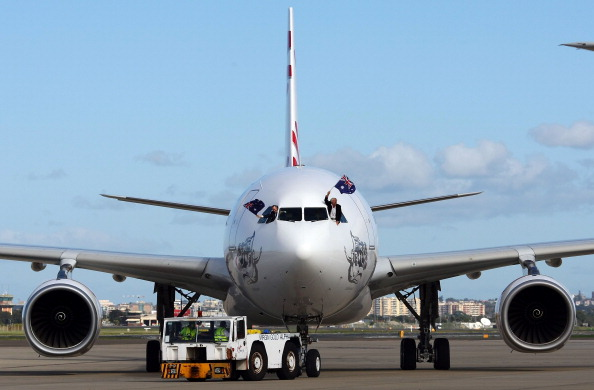 Rebranding「Virgin Blue Group Launches New Aircraft In Sydney」:写真・画像(13)[壁紙.com]