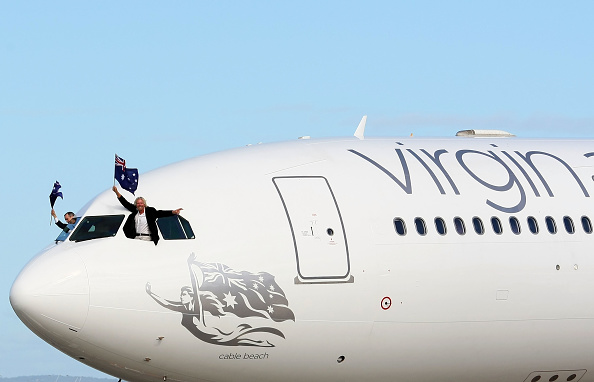 Rebranding「Virgin Blue Group Launches New Aircraft In Sydney」:写真・画像(14)[壁紙.com]