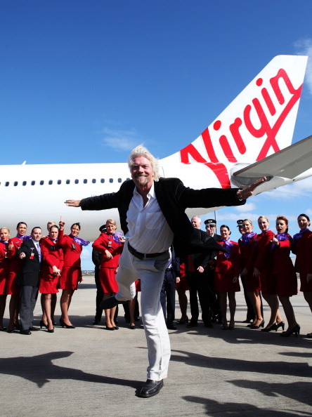 Rebranding「Virgin Blue Group Launches New Aircraft In Sydney」:写真・画像(15)[壁紙.com]