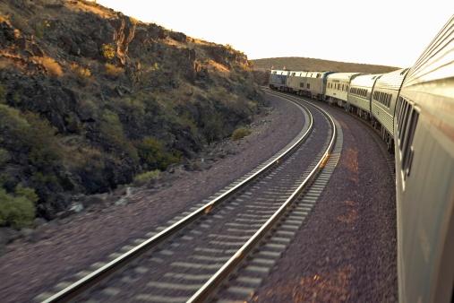 Passenger「Passenger train traveling into the Arizona sunset」:スマホ壁紙(9)