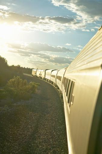 Passenger「Passenger train traveling into the Arizona sunset」:スマホ壁紙(11)