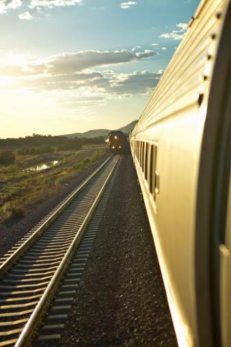Passenger「Passenger train traveling into the Arizona sunset」:スマホ壁紙(10)