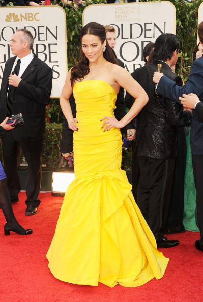 Strapless Evening Gown「69th Annual Golden Globe Awards - Arrivals」:写真・画像(3)[壁紙.com]