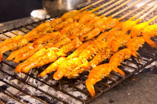 Sayulita「Barbequed shrimp on the skewer」:スマホ壁紙(5)