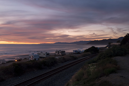 California State Route 1「Twilight Over Pacific Coastline」:スマホ壁紙(7)