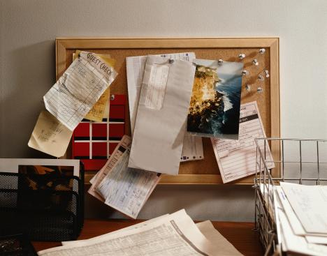 Letter - Document「Bulletin Board」:スマホ壁紙(16)