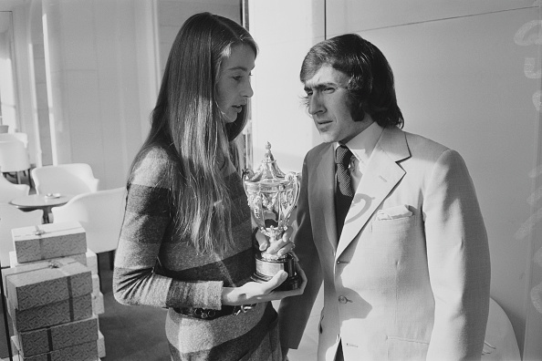 Two People「Jackie Stewart And Nina Rindt」:写真・画像(15)[壁紙.com]
