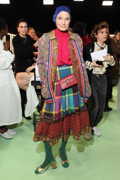 Fashion show「Gucci - Arrivals at Backstage - Milan Fashion Week Fall/Winter 2020/21」:写真・画像(10)[壁紙.com]