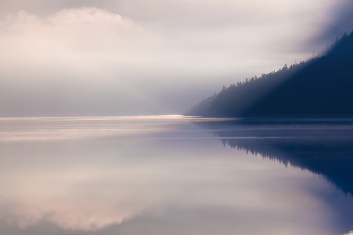 Wilderness Area「lake plansee in the morning」:スマホ壁紙(7)