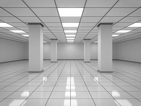 Network Server「Modern Empty Room」:スマホ壁紙(19)