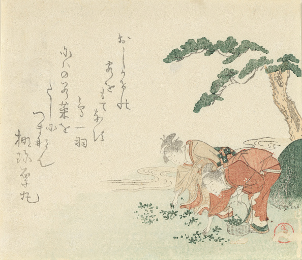 Print Collector「Two Girls Collect New Years Herbs,」:写真・画像(12)[壁紙.com]