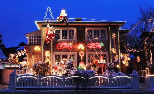 Christmas Decorated House In Hamburg:ニュース(壁紙.com)